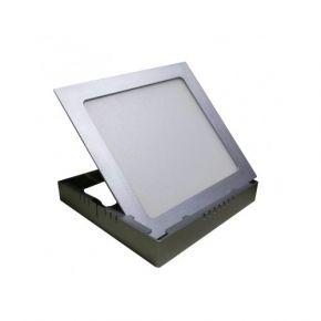 Dio Χωνευτό Τετράγωνο LED Panel Slim 20W