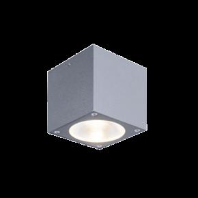 Dio LED Πλαφονιέρα Οροφής Επίτοιχη 7W ANCO Τετράγωνο