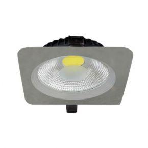 Dio Τετράγωνο LED Panel 30W Φωτιστικό Οροφής Luce IP44