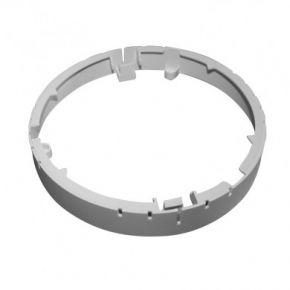 Dio Πλαίσιο για LED Theron Panel Slim 14W Στρογγυλό Πλαστικό