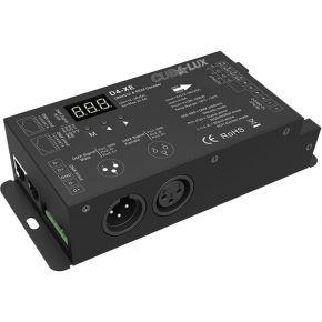 Cubalux DMX512 & RDM decoder 4Χ8Α