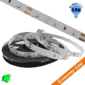 Eco Ταινία LED 4.8 Watt 12 Volt Πράσινο IP20