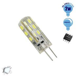 Λάμπα LED G4 2 Watt 12 Volt DC Ψυχρό Λευκό