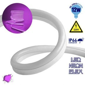 LED NEON FLEX 230 Volt Φούξια IP66 Dimmable