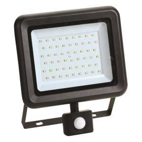 Eurolamp Προβολέας LED SMD Με Περιστρεφόμενο Ανιχνευτή Κίνησης Plus 50W IP44