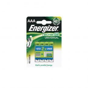 Energizer Επαναφορτιζόμενες Μπαταρίες σε Blister AAA/500mAh