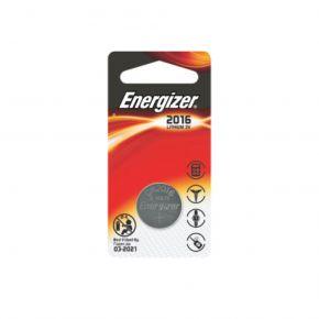 Energizer Μπαταρία Λιθίου Κουμπί σε Blister CR2016/3V