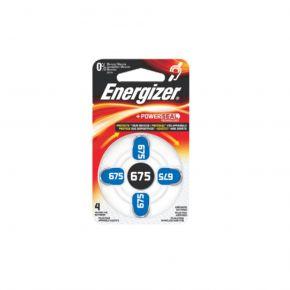 Energizer Μπαταρίες Ακουστικών Βαρηκοΐας σε Blister Μπλε ΖΑ675