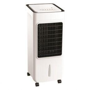 Eurolamp Air Cooler Λευκό/Μαύρο Με Κοντρόλ 6L 80W