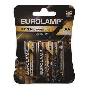 Eurolamp Aλκαλική Μπαταρία Extreme AA (LR6) 4ΤΜΧ 1.5V