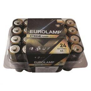 Eurolamp Αλκαλική Μπαταρία Extreme AA (LR6) 24ΤΜΧ 1.5V