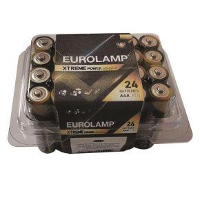 Eurolamp Αλκαλική Μπαταρία Extreme AAA (LR03) 24ΤΜΧ 13.5V