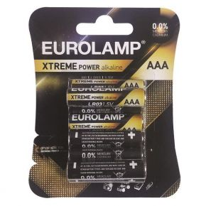 Eurolamp Αλκαλική Μπαταρία Extreme AAA (LR03) 8ΤΜΧ 1,5V