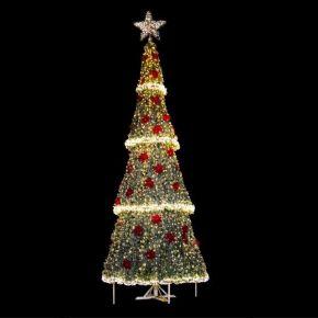 Eurolamp Δέντρο Φωτιζόμενο Γίγας PVC Εξωτερικού Χώρου 700cm