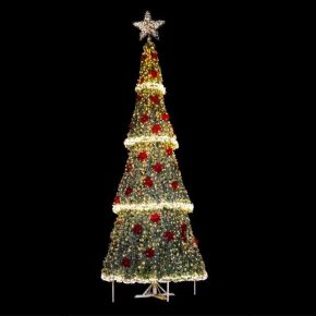 Eurolamp Δέντρο Φωτιζόμενο Γίγας PVC Εξωτερικού Χώρου 900cm