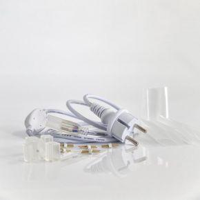 Eurolamp Φις Για Neon LED Φωτοσωλήνα IP20 Σετ 5 τμχ