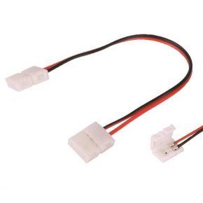 Eurolamp Φις LED Connector Με Καλώδιο 2 Επαφών 3528 4.8W