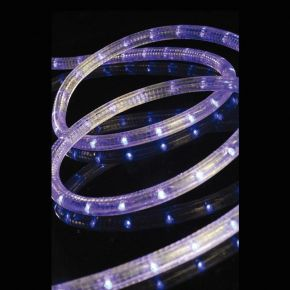 Eurolamp Φωτοσωλήνας LED Μονοκάναλος Μπλε IP44 50m