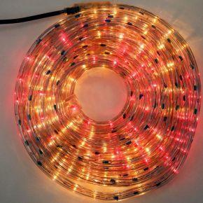 Eurolamp Φωτοσωλήνας Μονοκάναλος Χρωματιστός IP44 10m με Πρόγραμμα