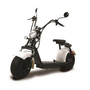 EUROSPEED Ηλεκτρικό Scooter Standard N1 EEC 1000W 12AH Λευκό