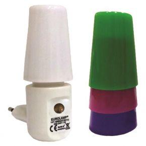 Eurolamp LED Φωτάκι Νυκτός Με Φωτοκύτταρο