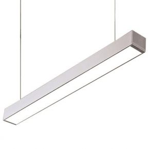 Eurolamp LED Γραμμικό Φωτιστικό Εξωτερικό 40W Pro Nickel Mat