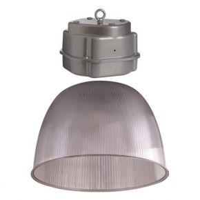 Eurolamp LED Καμπάνα Πολυκαρβουνική  G.BOX 220-240V Ε40 Διάφανη