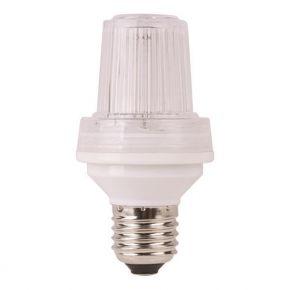 Eurolamp LED Λάμπα T58 Xenon Strobe Light 4W-6W E27 Clear