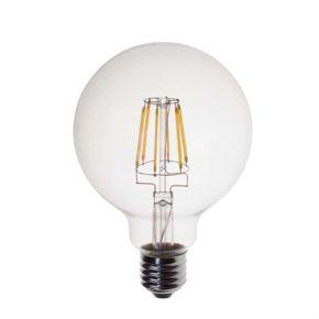 EuroLamp LED Λάμπα 8W E27 G95 Filament Dimmable 2200K