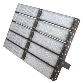 Eurolamp LED Προβολέας SMD 10X50 AC100-240V 500W IP65 PLUS Μαύρος
