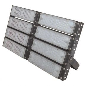 Eurolamp LED Προβολέας SMD 8X50 AC100-240V 400W IP65 PLUS Μαύρος