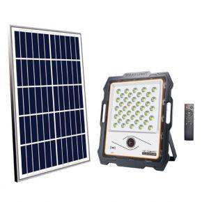 Eurolamp LED Προβολέας SMD Ηλιακός Με Κάμερα 100W DC5V IP65 PLUS Λευκός