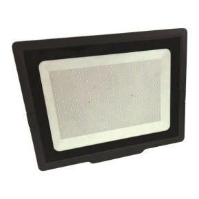 Eurolamp LED Προβολέας SMD SLIM 200W 110-240V IP65 PLUS Μαύρος