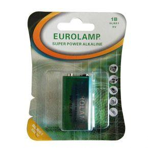 Eurolamp Μπαταρία Αλκαλική 9V 6LR61