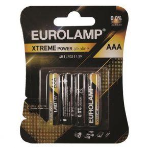 Eurolamp Μπαταρία Extreme AAA (LR03) 4ΤΜΧ 1.5V