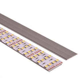 Eurolamp Προφίλ Αλουμινίου Διπλή Ψύκτρα 2m