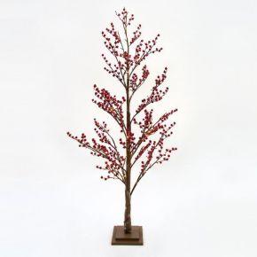 Eurolamp 72 LED Δέντρο Με Berry 120cm IP20