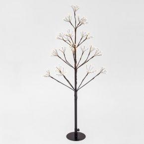 Eurolamp 168 LED Δέντρο & 84 LED Flash Θερμό Λευκό 90cm IP44