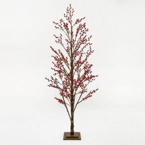 Eurolamp 168 LED Δέντρο Με Berry 180cm IP20