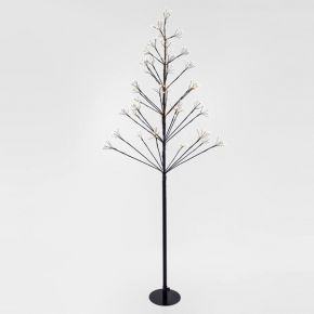 Eurolamp 304 LED Δέντρο & 152 LED Flash Θερμό Λευκό 150cm IP44
