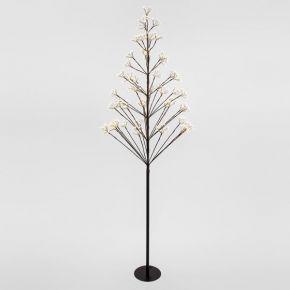 Eurolamp 400 LED Δέντρο Θερμό Λευκό & 250 Flash LED 180cm IP44