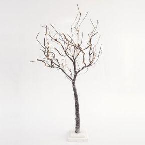 Eurolamp 72 LED Δέντρο Χιονισμένο Φωτιζόμενο Με Μετασχηματιστή 90cm IP20
