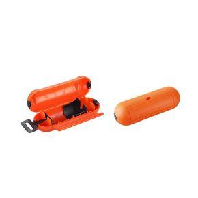 Eurolamp Box Στεγανοποίησης Για Σούκο Φις IP44 Πορτοκαλί