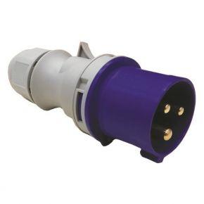 Eurolamp Φις Αρσενικό Βιομηχανικού Τύπου IP44 Μπλέ-Γκρί