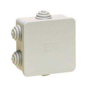 Eurolamp Κουτί Διακλάδωσης Εξωτερικό Στεγανό IP44 Γκρι