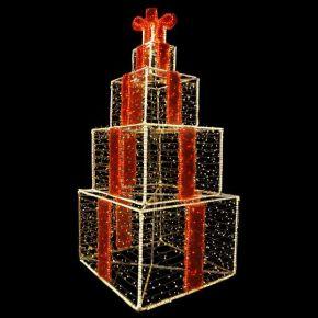 Eurolamp LED Επαγγελματικό Σχέδιο 3D Κουτιά Δώρου 150x350 IP44