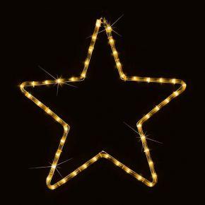 Eurolamp Αστέρι Θερμό Λευκό LED IP44 56x56cm