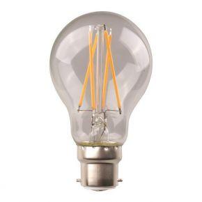Eurolamp LED Λάμπα Crossed Filament 9W B22 Clear