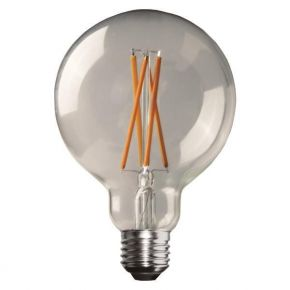 Eurolamp LED Λάμπα Γλόμπος G125 Crossed Filament E27