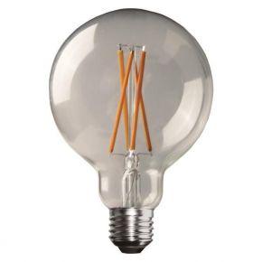 Eurolamp LED Λάμπα Γλόμπος G95 Crossed Filament E27